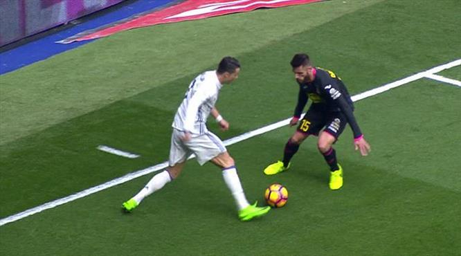Ronaldo'dan muhteşem çalım