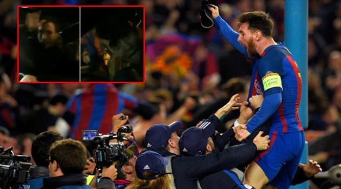 Messi'yi eve göndermediler