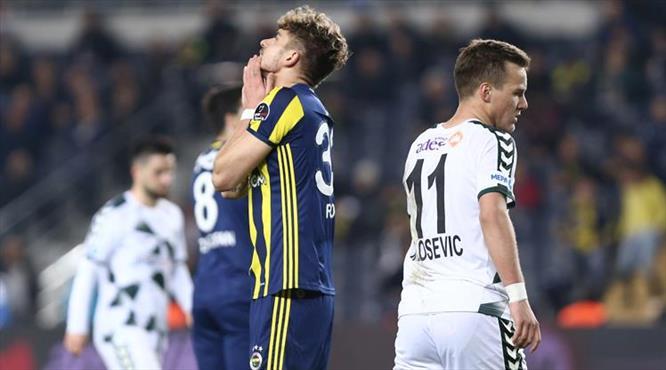 F.Bahçe-Konyaspor: 2-3