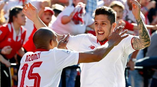 Gol düellosunda Sevilla şov yaptı!