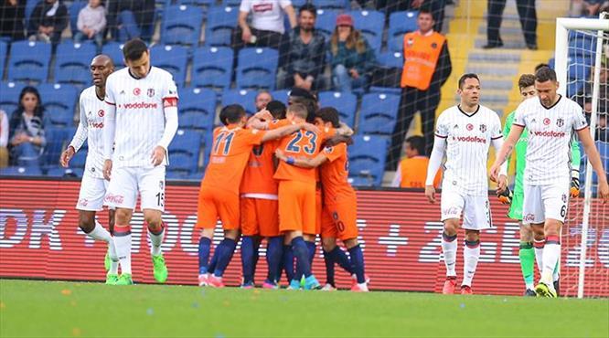 Başakşehir-Beşiktaş: 3-1