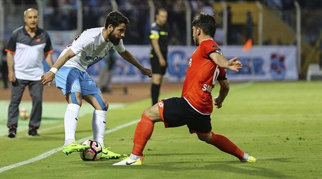 Adanaspor-Trabzonspor: 1-1