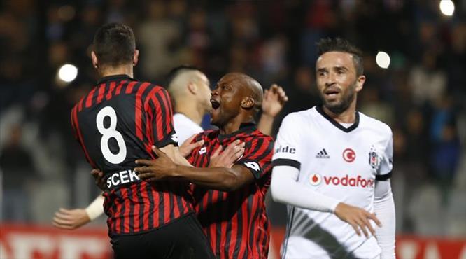 Gençlerbirliği-Beşiktaş:2-1