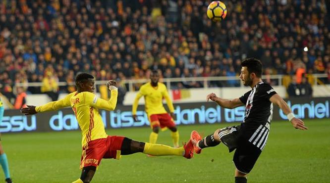 E.Yeni Malatya-Beşiktaş: 0-0