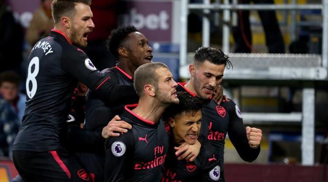 Arsenal'e hayat veren penaltı