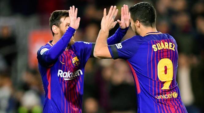 El Clasico öncesi Barça şov