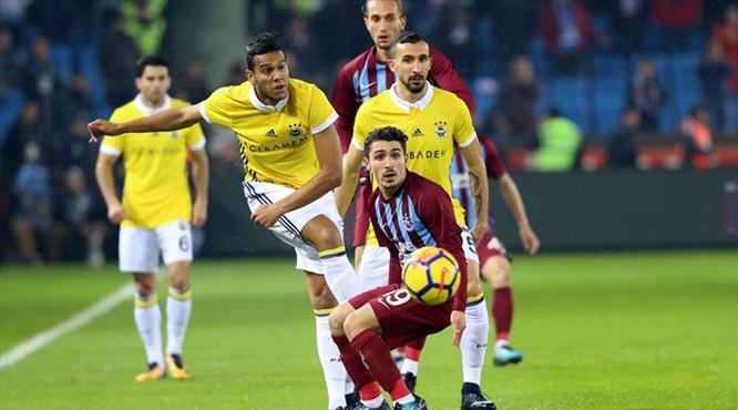 Trabzonspor-F.Bahçe: 1-1