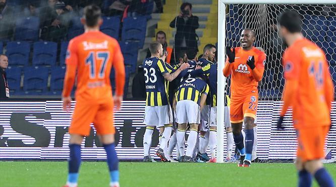 Başakşehir-F.Bahçe: 0-2