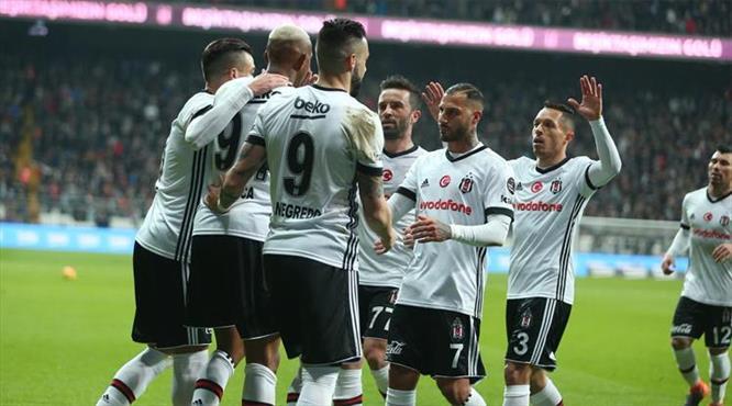Beşiktaş-Karabük: 5-0